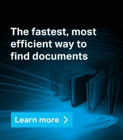 The fastest, most efficient way to find documents