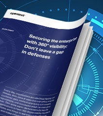 Securing the enterprise with 360 degree visibility white paper thumbnail
